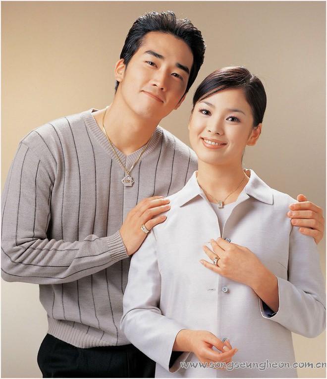 Tượng đài nhan sắc Song Hye Kyo gây sốc với loạt ảnh mặt tròn xoe, nặng tới 70kg cách đây 20 năm - Ảnh 3