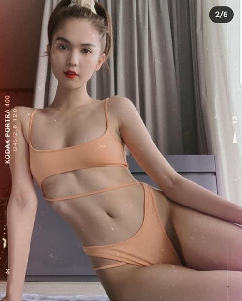 """Ngọc Trinh tung bộ ảnh bikini khoe ba vòng bốc lửa, không chút mỡ thừa """"đốt mắt"""" người nhìn - Ảnh 1"""