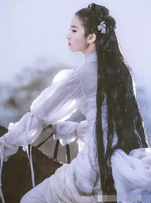 """Toàn """"cõi mạng"""" điên đảo vì bức hình hiếm của Lưu Diệc Phi năm 16 tuổi: Đẹp như thần tiên giáng thế, tiên khí tỏa ra khắp nơi - Ảnh 6"""