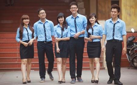 """Ngắm những bộ đồng phục đẹp lạ, """"được lòng"""" sinh viên Việt Nam nhất - Ảnh 7"""