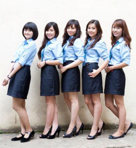 """Ngắm những bộ đồng phục đẹp lạ, """"được lòng"""" sinh viên Việt Nam nhất - Ảnh 9"""