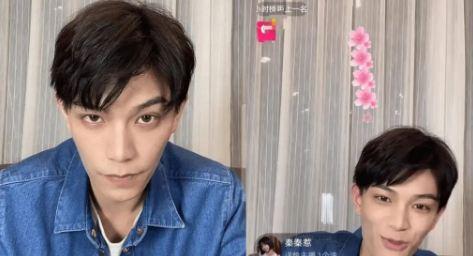 """Nhan sắc """"tiểu thịt tươi"""" Đinh Vũ Hề trong livestream và ảnh chụp của """"team qua đường"""" khiến fan """"ngã ngửa"""" - Ảnh 5"""
