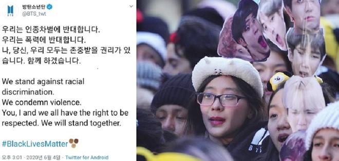 BTS ủng hộ 1 triệu USD cho phong trào vì người da màu - Ảnh 2