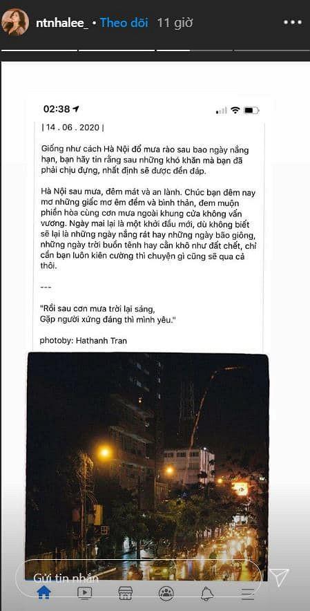 """Nhật Lê có động thái lạ giữa lúc Quang Hải và Huỳnh Anh công khai """"tình tứ"""" sau scandal lộ tin nhắn nhạy cảm - Ảnh 3"""