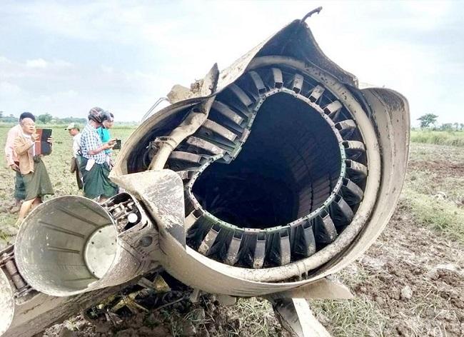 2 tiêm kích do Trung Quốc sản xuất rơi liên tiếp tại Myanmar - Ảnh 1