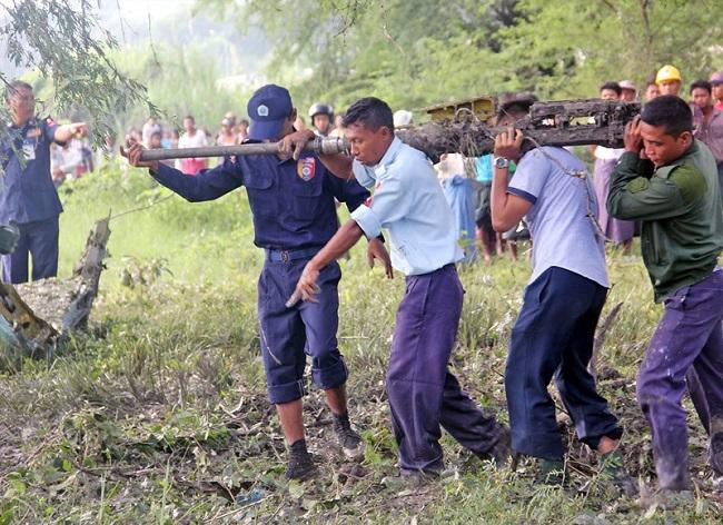 2 tiêm kích do Trung Quốc sản xuất rơi liên tiếp tại Myanmar - Ảnh 3