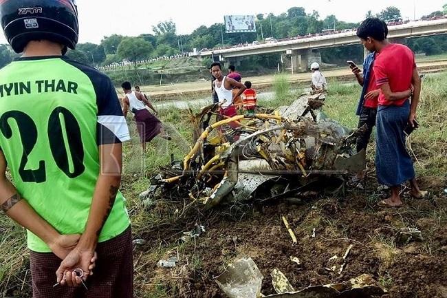 2 tiêm kích do Trung Quốc sản xuất rơi liên tiếp tại Myanmar - Ảnh 5