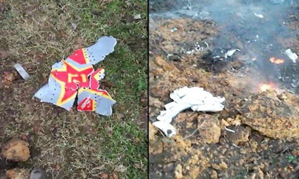 """Chiến đấu cơ """"con cưng"""" của không quân Trung Quốc bốc cháy, rơi tại Quảng Đông - Ảnh 1"""
