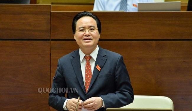 """Bộ trưởng Phùng Xuân Nhạ giải trình trước Quốc hội sau 1 ngày """"đội sổ"""" về lấy phiếu tín nhiệm - Ảnh 1"""