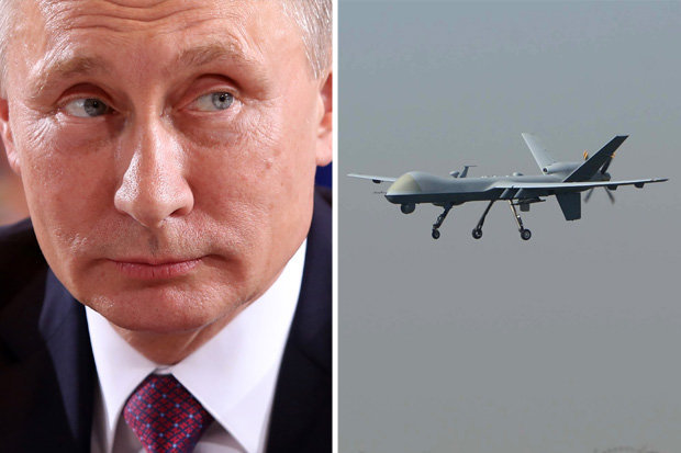 Tổng thống Putin tiết lộ Nga dùng đòn phối hợp đánh chặn 50 UAV của phiến quân tại Syria - Ảnh 1
