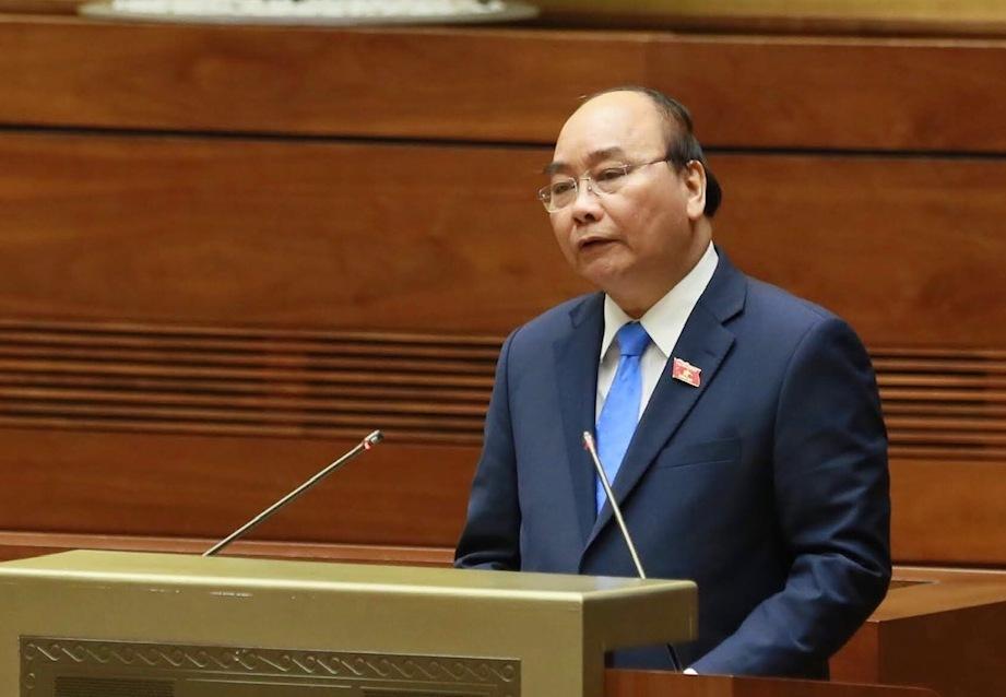 Thủ tướng Nguyễn Xuân Phúc trả lời chất vấn - Ảnh 1