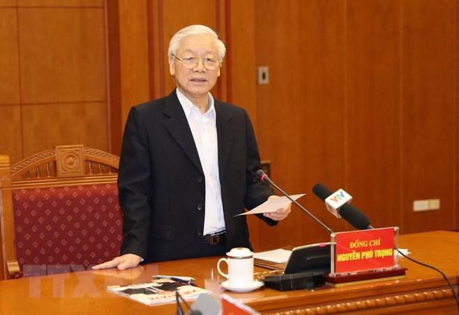 Tổng Bí thư, Chủ tịch nước Nguyễn Phú Trọng chủ trì cuộc họp phòng, chống tham nhũng - Ảnh 2