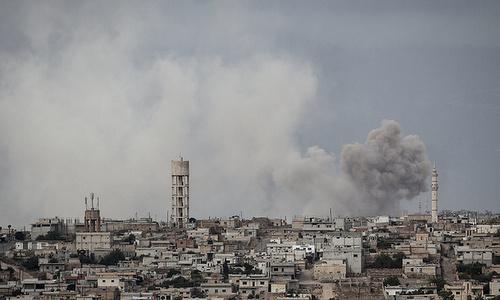 Phiến quân đang chuẩn bị dàn dựng một vụ tấn công hóa học tại Syria - Ảnh 1
