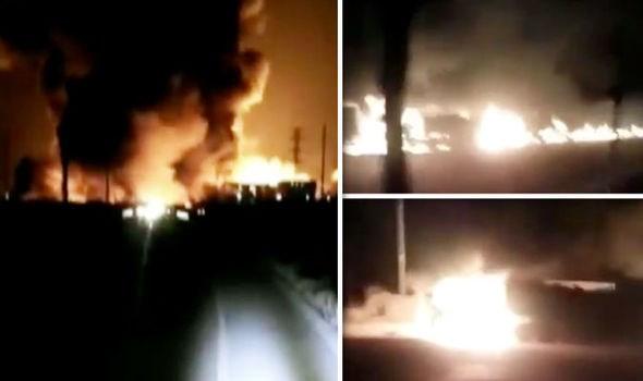 Trung Quốc: Nổ gần nhà máy hóa chất, ít nhất 22 người thiệt mạng - Ảnh 1