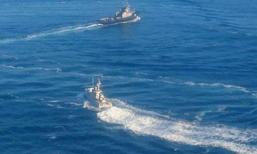 Ukraine tố chiến đấu cơ Su-30 Nga nã rocket vào 3 tàu hải quân - Ảnh 1