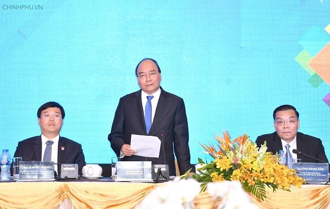 Thủ tướng Nguyễn Xuân Phúc dự diễn đàn thanh niên khởi nghiệp - Ảnh 2
