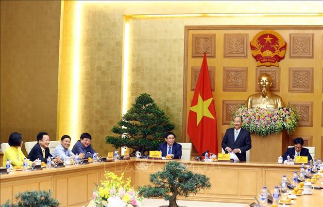Thủ tướng trao thưởng cho đội tuyển Việt Nam vô địch AFF Suzuki Cup 2018 - Ảnh 4