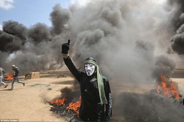 Israel bắn chết hàng chục người biểu tình phản đối Mỹ mở đại sứ quán ở Jerusalem - Ảnh 2