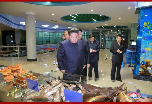 Ông Kim Jong-un bất ngờ thị sát nhà hàng hải sản ở Bình Nhưỡng trước khi sang Singapore - Ảnh 8