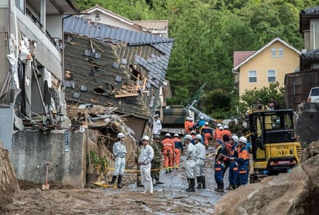 Trận mưa lũ lịch sử đã tàn phá Nhật Bản khủng khiếp tới mức nào? - Ảnh 12