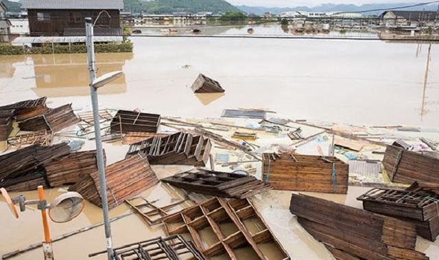 Trận mưa lũ lịch sử đã tàn phá Nhật Bản khủng khiếp tới mức nào? - Ảnh 13