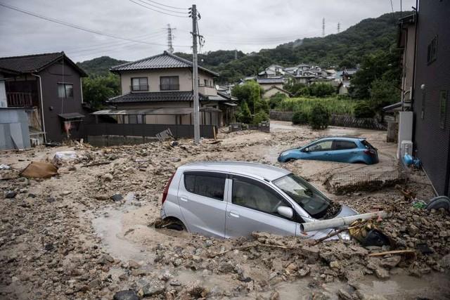 Trận mưa lũ lịch sử đã tàn phá Nhật Bản khủng khiếp tới mức nào? - Ảnh 4