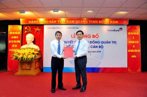 Ông Cát Quang Dương phụ trách HĐQT Vietinbank, ghế chủ tịch tiếp tục bỏ trống  - Ảnh 2