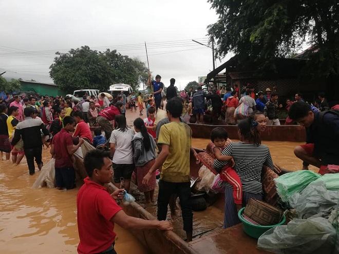 Vỡ đập thủy điện Lào: Cuộc sông bình yên của hơn 6.000 người dân bị đảo lộn - Ảnh 7