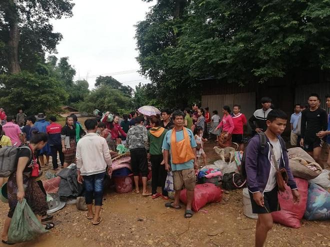 Vỡ đập thủy điện Lào: Cuộc sông bình yên của hơn 6.000 người dân bị đảo lộn - Ảnh 8
