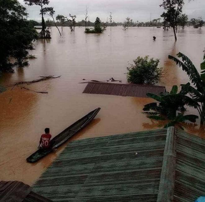 Vỡ đập thủy điện Lào: Cuộc sông bình yên của hơn 6.000 người dân bị đảo lộn - Ảnh 2