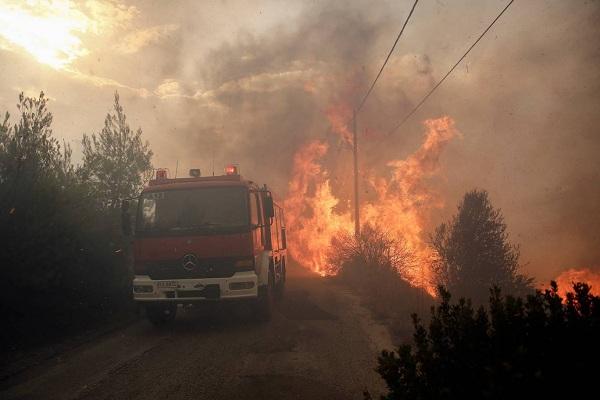 """Hy Lạp: Cận cảnh """"quỷ lửa"""" nuốt trọn gần 100 ngôi nhà, ít nhất 74 người chết - Ảnh 7"""