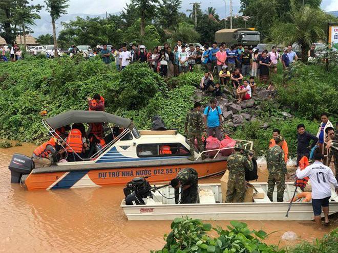 Sự cố vỡ đập thủy điện Lào: Phát hiện 28 thi thể, nhiều người vẫn mất tích - Ảnh 1