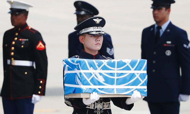 Bình Nhưỡng trao trả hài cốt lính Mỹ thiệt mạng trong Chiến tranh Triều Tiên - Ảnh 1