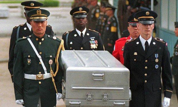 Bình Nhưỡng trao trả hài cốt lính Mỹ thiệt mạng trong Chiến tranh Triều Tiên - Ảnh 2