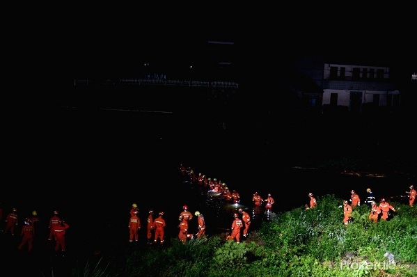 Sập cầu kinh hoàng ở Trung Quốc, 8 người thiệt mạng, 3 người bị thương - Ảnh 2