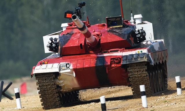 Những khoảnh khắc ấn tượng trong giải đấu xe tăng quốc tế tại Nga - Ảnh 2