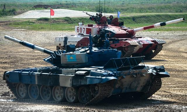 Những khoảnh khắc ấn tượng trong giải đấu xe tăng quốc tế tại Nga - Ảnh 3