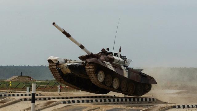 Những khoảnh khắc ấn tượng trong giải đấu xe tăng quốc tế tại Nga - Ảnh 5