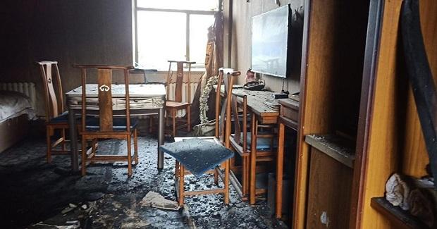 Khung cảnh tan hoang sau vụ cháy khách sạn tại khiến 18 người thiệt mạng - Ảnh 6
