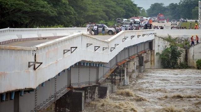 Hiện trường vỡ đập tại Myanmar khiến hơn 100 ngôi làng ngập trong nước lũ - Ảnh 3