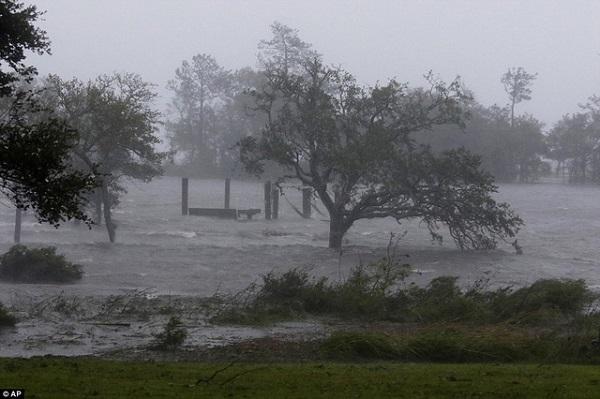 Siêu bão Florence có thể trút 37,8 nghìn tỷ lít nước khi đổ bộ vào Mỹ - Ảnh 2