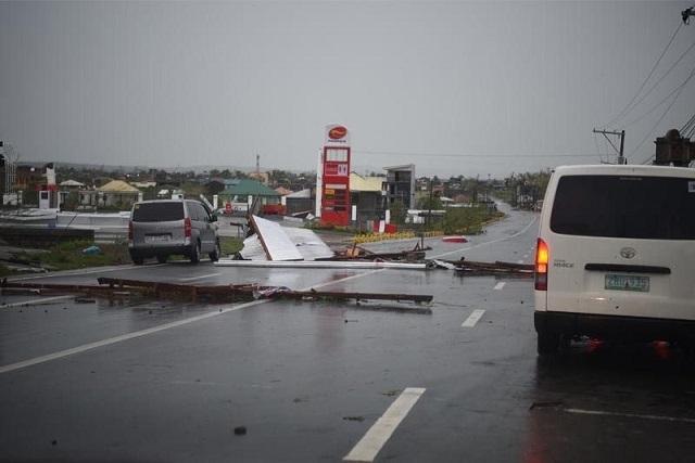 Siêu bão Mangkhut đổ bộ, Philippines gồng mình chống chọi - Ảnh 6