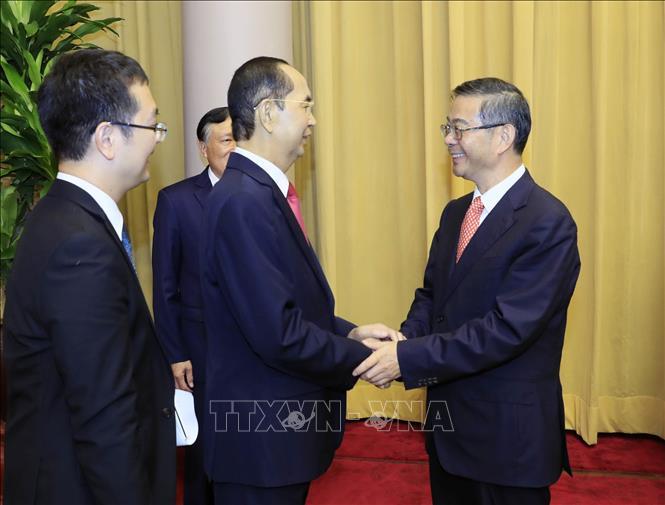 Hình ảnh những ngày làm việc cuối cùng của Chủ tịch nước Trần Đại Quang - Ảnh 10