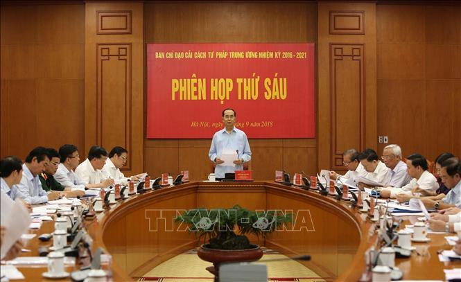 Hình ảnh những ngày làm việc cuối cùng của Chủ tịch nước Trần Đại Quang - Ảnh 11