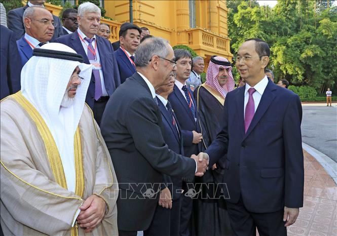 Hình ảnh những ngày làm việc cuối cùng của Chủ tịch nước Trần Đại Quang - Ảnh 5