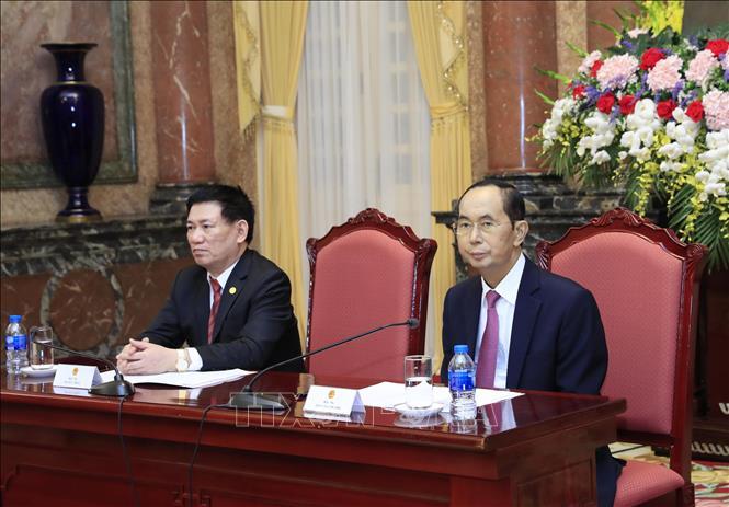 Hình ảnh những ngày làm việc cuối cùng của Chủ tịch nước Trần Đại Quang - Ảnh 7