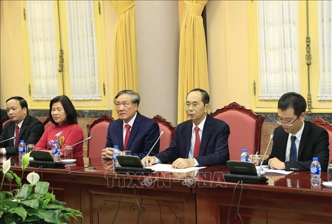 Hình ảnh những ngày làm việc cuối cùng của Chủ tịch nước Trần Đại Quang - Ảnh 9