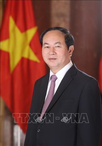 Hình ảnh những ngày làm việc cuối cùng của Chủ tịch nước Trần Đại Quang - Ảnh 2
