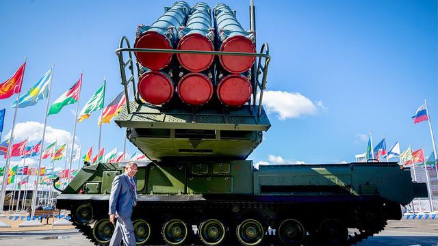 """Buk-M3: Hệ thống phòng không """"thợ săn Tomahawk"""" đầy uy lực của Nga - Ảnh 1"""