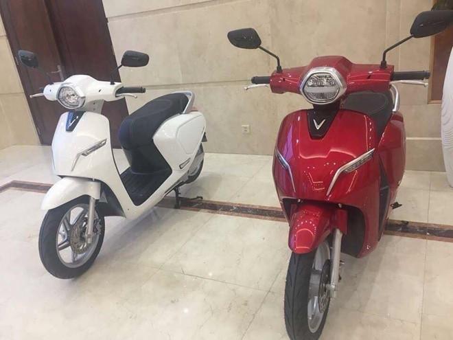 Hé lộ mẫu xe máy điện đầu tiên của Vinfast - Ảnh 1